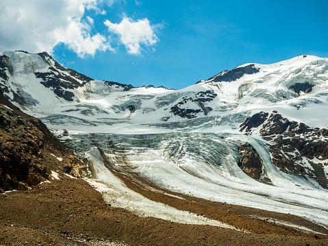 Stelvio「Italy, Lombardy, Cevedale Vioz mountain crest, Forni glacier」:スマホ壁紙(16)