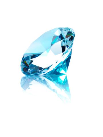 Multi-Layered Effect「Diamond on white background」:スマホ壁紙(4)