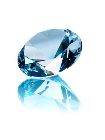 Digital Composite「Diamond on white background」:スマホ壁紙(11)