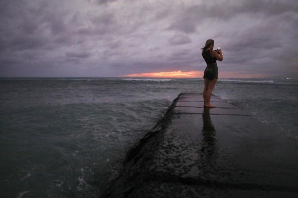 オアフ島「Hurricane Lane Brings Rain And High Winds To Hawaii's Oahu Island」:写真・画像(11)[壁紙.com]