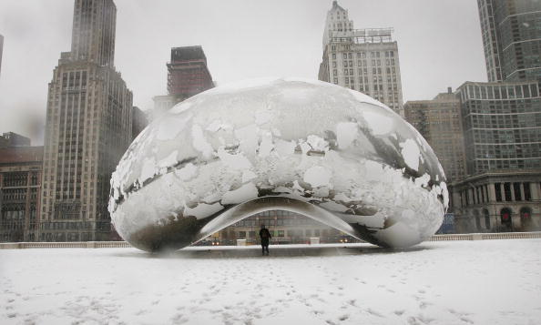 Snowing「Snow Blankets The Midwest」:写真・画像(7)[壁紙.com]
