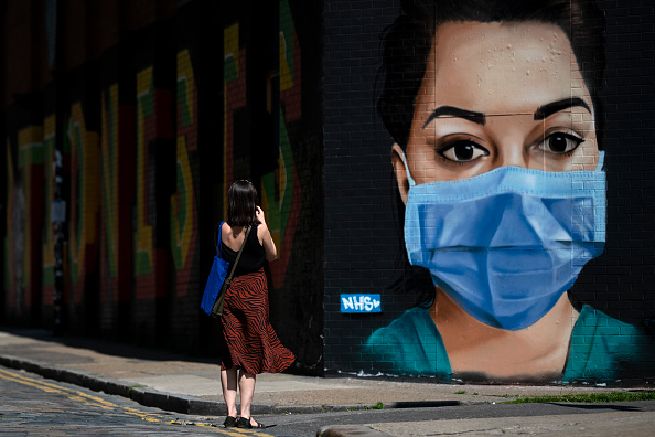 Graffiti「UK In Fifth Week Of Coronavirus Lockdown」:写真・画像(5)[壁紙.com]