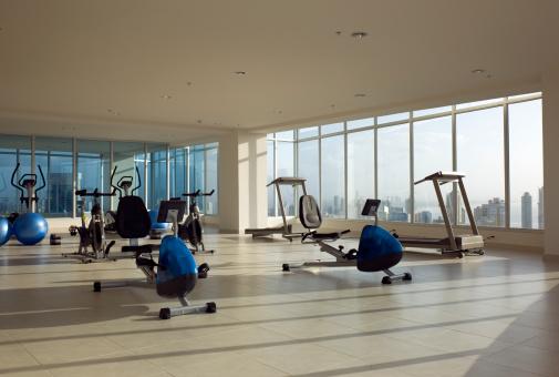 City Life「Condo gym」:スマホ壁紙(3)