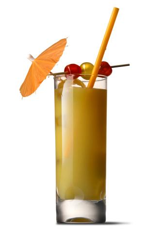 オレンジジュース「カクテル絶縁:ハーベイウォールバンガー」:スマホ壁紙(8)