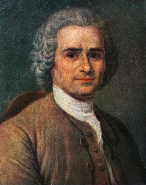 縦位置「Jean-Jacques Rousseau, portrait. Painting by La Tour. Swiss-French philosopher, writer, and composer」:写真・画像(11)[壁紙.com]