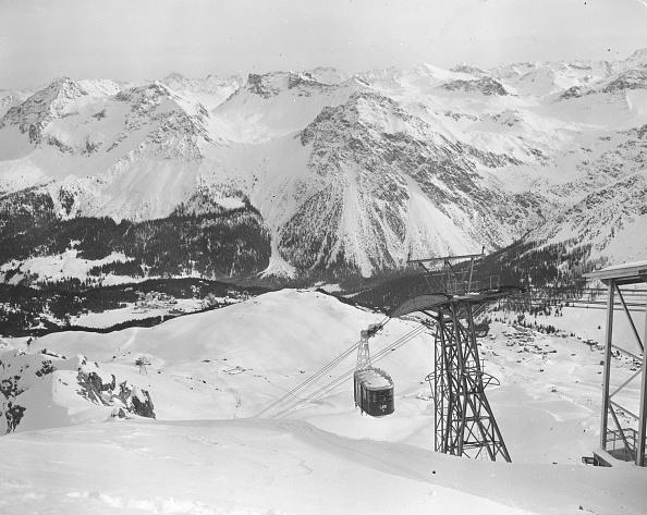 Approaching「Swiss Cable Car」:写真・画像(7)[壁紙.com]