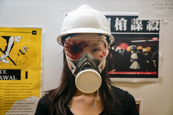 Protest「Unrest In Hong Kong During Anti-Government Protests」:写真・画像(4)[壁紙.com]