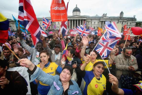 Prejudice「Protest Takes Place Over Immigration Rights」:写真・画像(7)[壁紙.com]