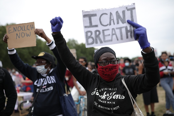 Hyde Park - London「Black Lives Matter Movement Inspires Protest In London」:写真・画像(19)[壁紙.com]