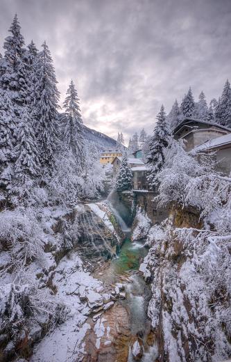 Bad Gastein「Winter in the Alps」:スマホ壁紙(1)