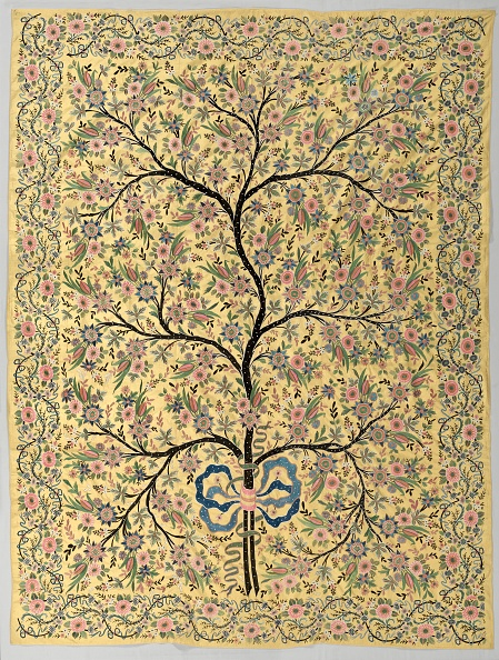 Embroidery「Silk Hanging With Embroidered Tree Of Life」:写真・画像(11)[壁紙.com]