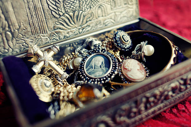 Antique Jewelry Box:スマホ壁紙(壁紙.com)