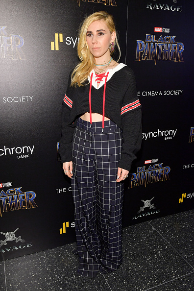 "High Waist Pants「The Cinema Society Hosts A Screening Of Marvel Studios' ""Black Panther""」:写真・画像(5)[壁紙.com]"