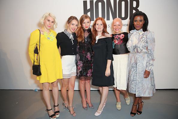 Morgan Saylor「Honor - Backstage - Mercedes-Benz Fashion Week Spring 2015」:写真・画像(17)[壁紙.com]
