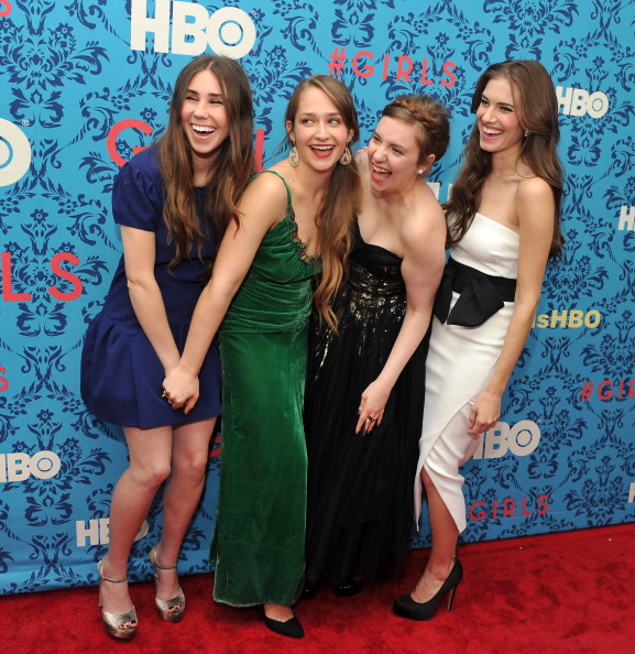 """HBO「HBO With The Cinema Society Host The New York Premiere Of HBO's """"Girls""""」:写真・画像(4)[壁紙.com]"""