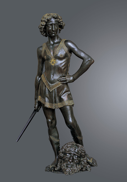 Sculpture「David Victorious Over Goliath」:写真・画像(1)[壁紙.com]
