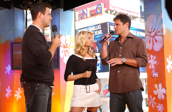 Cable Television「Carson Daly, Nick Lachey And Jessica Simpson」:写真・画像(9)[壁紙.com]