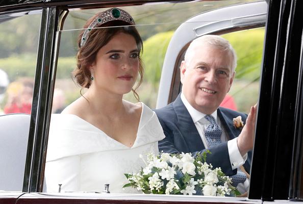 Princess Eugenie「Princess Eugenie Of York Marries Mr. Jack Brooksbank」:写真・画像(1)[壁紙.com]