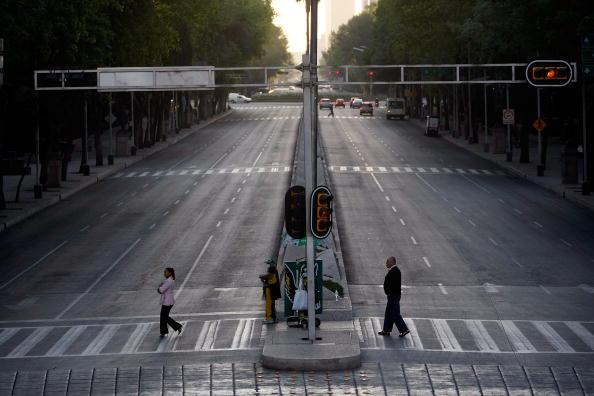 Mexico City「Swine Flu Fears Spread Throughout Mexico」:写真・画像(14)[壁紙.com]