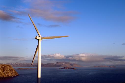 Wind Turbine「Horizontal axis wind turbine」:スマホ壁紙(3)