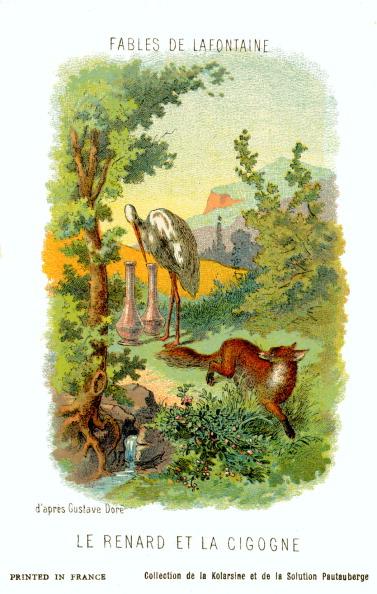 Fairy Tale「Le Renard et la Cigogne (The Fox and the Stork)」:写真・画像(18)[壁紙.com]