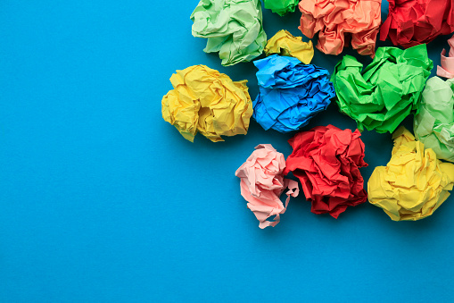 Recycling「Color paper balls」:スマホ壁紙(16)