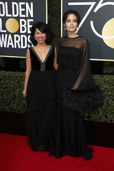 アンジェリーナ・ジョリー「75th Annual Golden Globe Awards - Arrivals」:写真・画像(0)[壁紙.com]