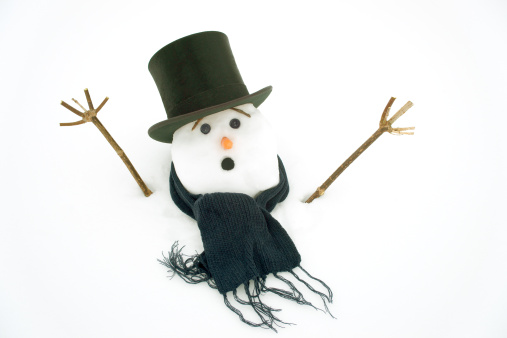 Snowdrift「Snowman drowning in snow.」:スマホ壁紙(11)