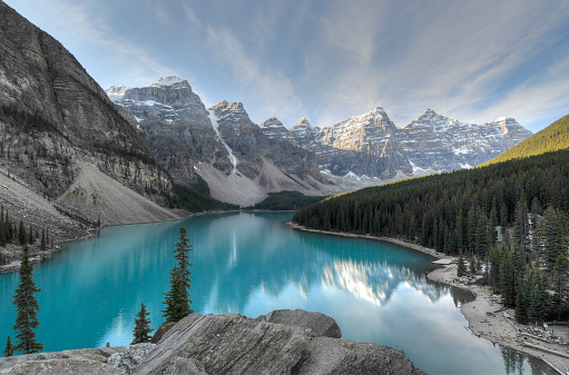 Moraine Lake「Valley of the Ten Peak,Banff National Park」:スマホ壁紙(4)
