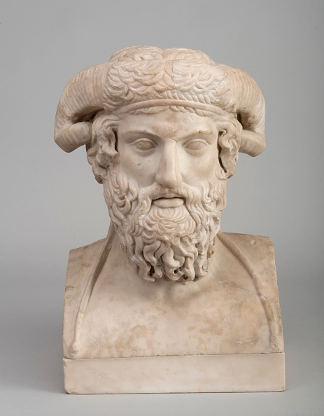 Bust - Sculpture「Bust Of Zeus Ammon」:写真・画像(5)[壁紙.com]
