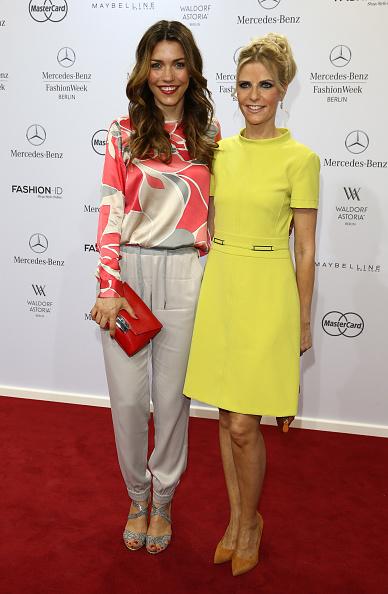 Yellow Dress「Marc Cain Arrivals - Mercedes-Benz Fashion Week Berlin Spring/Summer 2016」:写真・画像(6)[壁紙.com]