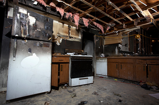 Arson「House Fire Series」:スマホ壁紙(8)