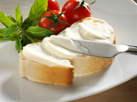 Cream Cheese「cream cheese on bread」:スマホ壁紙(13)