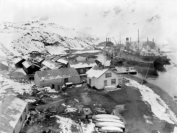 Frank Hurley「Leith Harbor Whaling Station」:写真・画像(12)[壁紙.com]