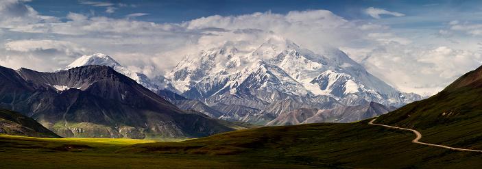Alaska Range「Mt Denali and the Alaska Range Panoramic」:スマホ壁紙(11)