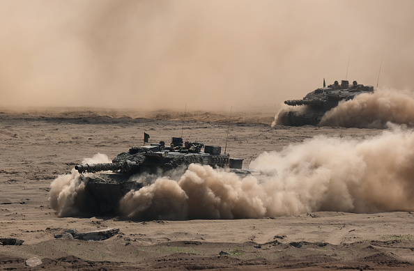 Armored Tank「NATO Holds Noble Jump 2019 Military Exercises」:写真・画像(9)[壁紙.com]