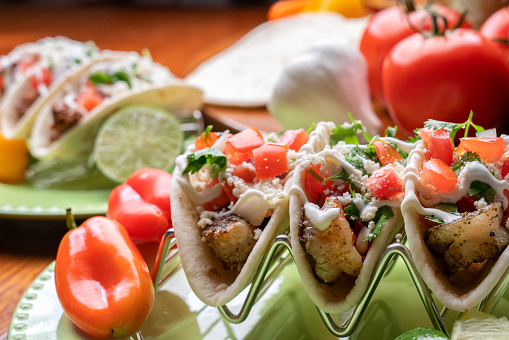 Sour Cream「Delicious Grilled Shrimp Street Tacos」:スマホ壁紙(10)