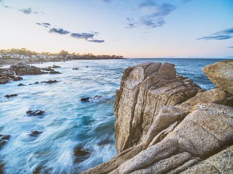 California State Route 1「scenic carmel beach of Carmel-by-the-Sea,California」:スマホ壁紙(5)