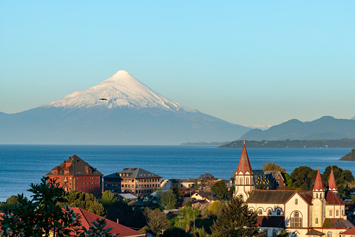 Active Volcano「Puerto Varas at Dusk」:スマホ壁紙(6)