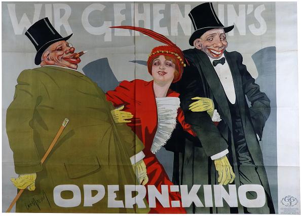 Chromolithograph「Wir Gehen Ins Opernkino」:写真・画像(18)[壁紙.com]