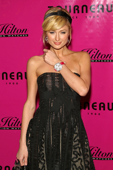 Wristwatch「Launch Party For Paris Hilton Limited Edition Watch Collection」:写真・画像(12)[壁紙.com]
