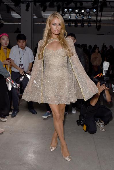 パリス・ヒルトン「Lanyu - Front Row - September 2017 - New York Fashion Week: The Shows」:写真・画像(7)[壁紙.com]