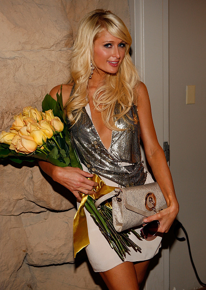 Silver Colored「Paris Hilton Sunglass Collection By Gripping Eyewear Launch Party」:写真・画像(13)[壁紙.com]