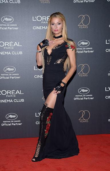 パリス・ヒルトン「Gala 20th Birthday Of L'Oreal In Cannes - The 70th Annual Cannes Film Festival」:写真・画像(7)[壁紙.com]