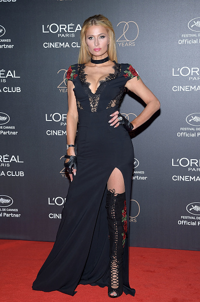 パリス・ヒルトン「Gala 20th Birthday Of L'Oreal In Cannes - The 70th Annual Cannes Film Festival」:写真・画像(4)[壁紙.com]
