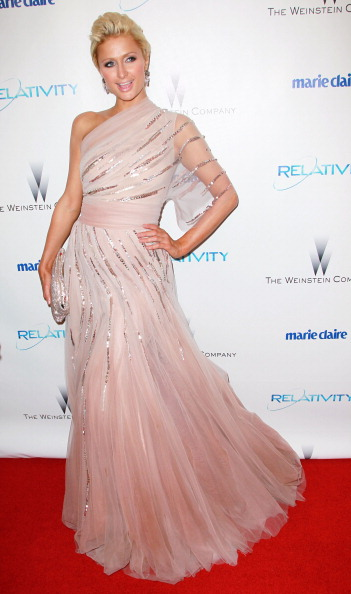 Evening Gown「The Weinstein Company And Relativity Media's 2011 Golden Globe Awards Party - Arrivals」:写真・画像(2)[壁紙.com]