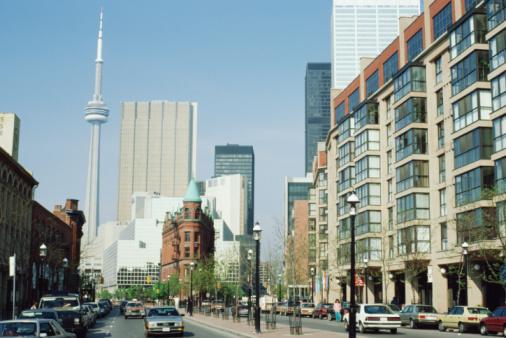 Boulevard「Cityscape of Toronto, Ontario, Canada」:スマホ壁紙(19)
