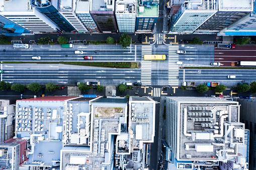 Tokyo - Japan「Cityscape of Tokyo and huge sky」:スマホ壁紙(15)