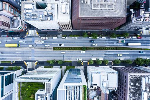 Tokyo - Japan「Cityscape of Tokyo and huge sky」:スマホ壁紙(11)