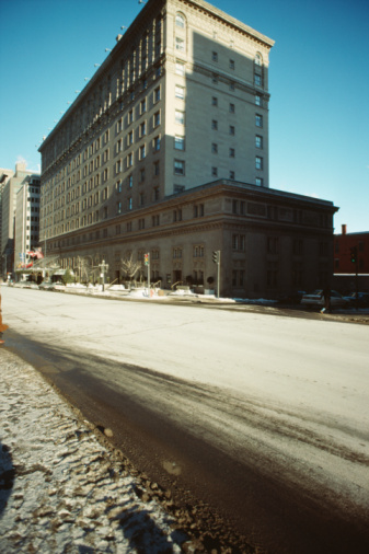 Boulevard「Cityscape of Montreal, Quebec, Canada」:スマホ壁紙(9)
